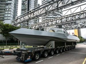 Specialized Marine Craft on the road